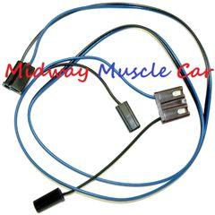 2 speed windshield wiper motor wiring harness 63 64 65 Chevy GMC Pickup C10 K10
