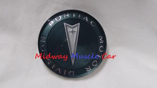 custom sport wood steering wheel horn cap emblem 65-68 Pontiac GTO Firebird