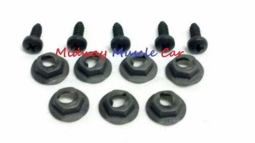 68 69 Chevy CHEVELLE el camino DASH PAD MOUNTING KIT nuts & screws