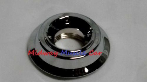 remote mirror chrome bezel door panel nut 65-68 Pontiac GTO Firebird GP