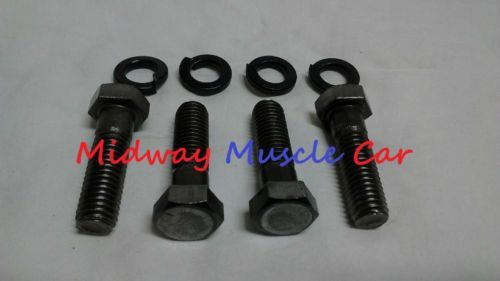 manual trans to bell housing bolts 66-72 Chevy Buick Olds Pontiac Chevelle GTO