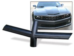 front grill bow tie emblem delete trim 2010-13 Chevy Camaro