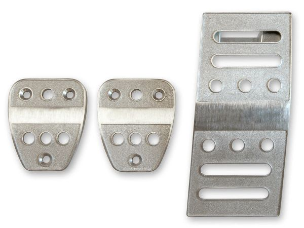 2005-2019 Ford Mustang M/T billet aluminum clutch brake & gas pedal trim covers