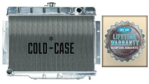 70-85 Jeep CJ Cold-Case aluminum performance radiator