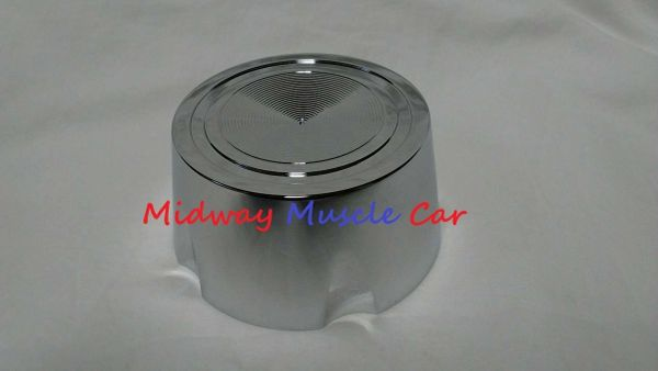 chrome rally 1 I wheel center cap 64 65 66 67 68 Pontiac GTO Lemans