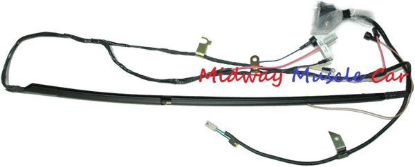 I 6 engine wiring harness w/ HEI Chevy GMC 67 68 69 pickup truck blazer suburban