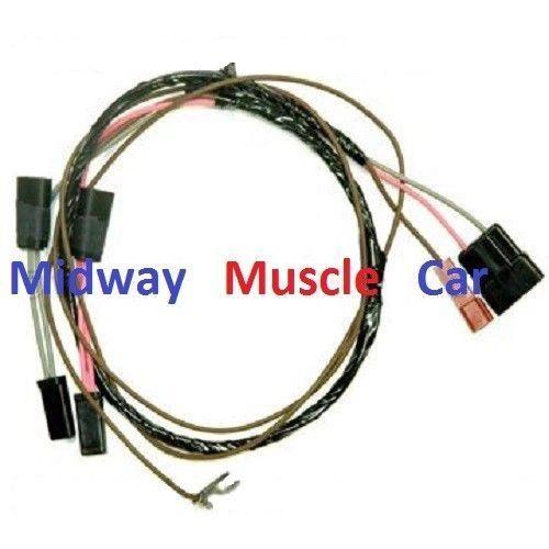 tachometer wiring harness 66 Chevy II Nova kneeknocker tach