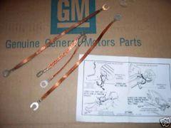 ground strap set 67 68 69 Chevy Chevelle Malibu El Camino 327 350 396 427