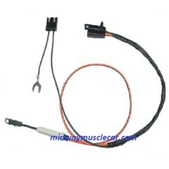69 70 Pontiac GTO lemans tempest catalina bonneville granville safari AIR CONDITIONING compressor extension harness a/c