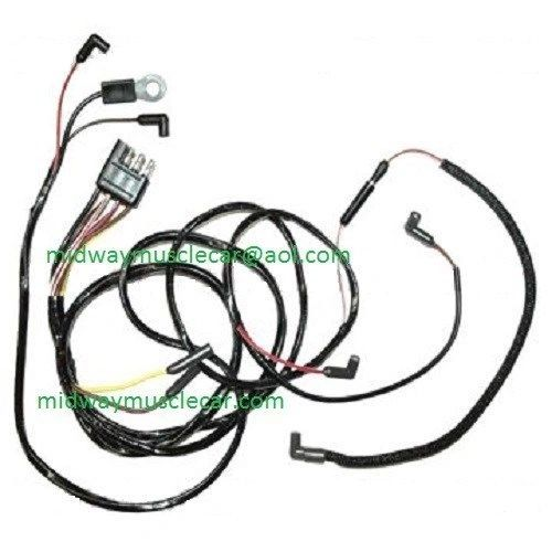 65 Ford Mustang v8 Engine Gauge Feed Wiring Harness 1965 260 289 Gauge Car Wire Harness on