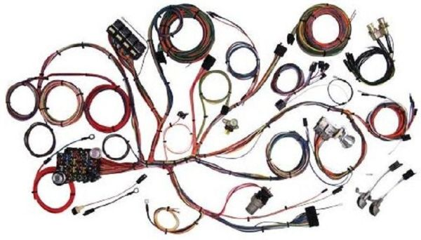67 68 Ford Mustang Wiring kit Custom Update Wiring Harness Series shelby mach1