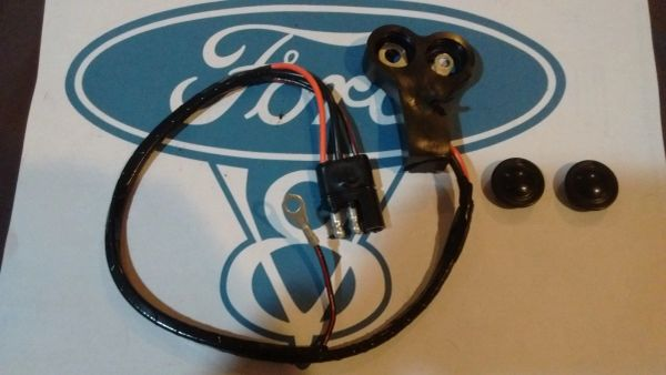 69 Ford Mustang Mercury Cougar VOLTAGE REGULATOR TO ALTERNATOR HARNESS w/o tach