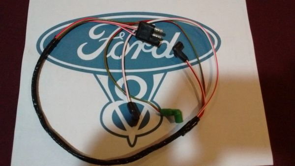 67 Ford Mustang v8 Engine Gauge Feed Wiring Harness 289 302 w/o tach