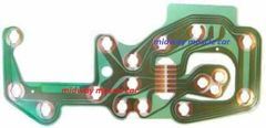 78-82 Chevy Corvette instrument cluster speedo & tach printed circuit board