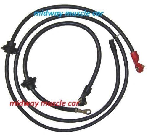 72 73 74 C3 original Correct Chevy Corvette Battery Cable Set
