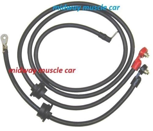 75 76 77 78 79 80 C3 original Correct Chevy Corvette Battery Cable Set