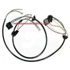 58 59 60 61 62 Corvette headlamp light bucket estension wiring harness Chevy vet