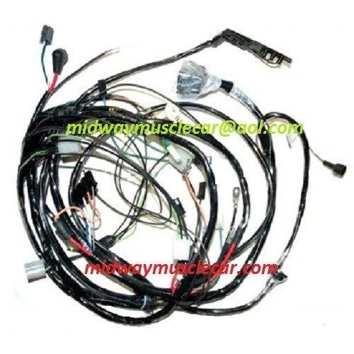 front end forward lamp light wiring harness 70 Chevy Corvette 1970