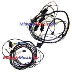 69 Corvette rear body tail light wiring harness Chevy vet 350 427