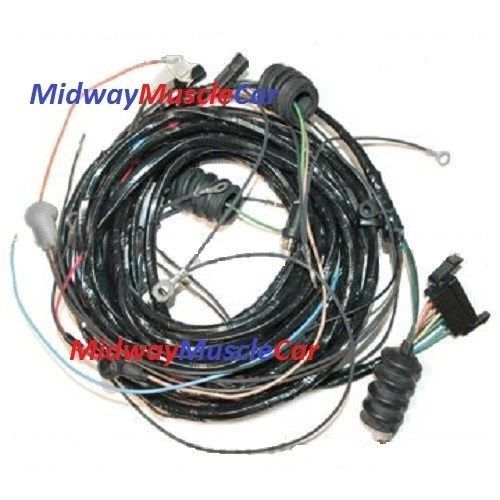 70 Corvette rear body tail light wiring harness Chevy vet 350 454 1970