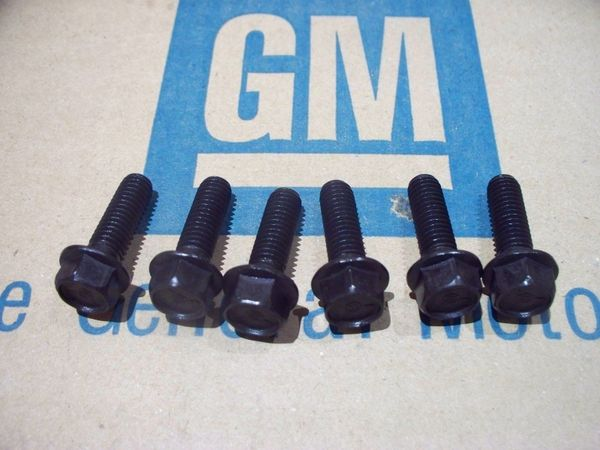 NOS bell housing bolts 64-72 Buick Olds Pontiac GTO GS 442 Corvette m20 m21 m22