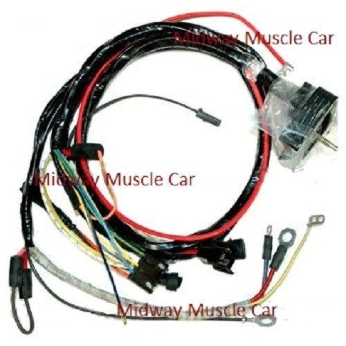 engine wiring harness 70 Chevy Corvette 454 350 396 vette w/ Auto trans