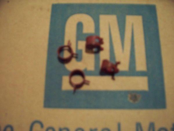 NOS fuel line clamp Chevy CHEVELLE CORVETTE CAMARO IMPALA NOVA ss rs/ss 64-74