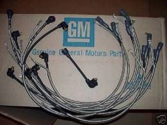 1-Q-67 dated plug wires 67 Chevy Corvette 427 & radio