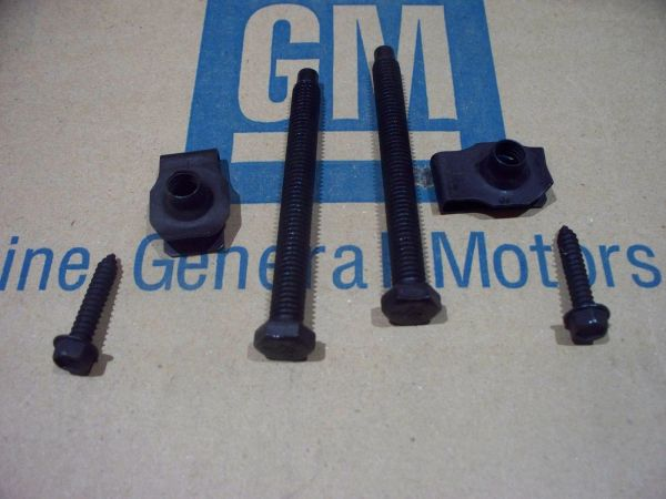 GAS TANK STRAP HARDWARE mount kit 68 69 71 72 GTO 442 GS chevelle pontiac