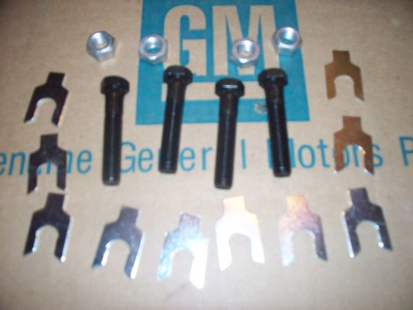 NOS upper control arm bolts nuts shim Buick Olds Cutlass 442 GS gran sport 64-72