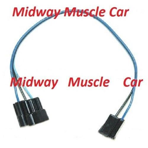 windshield wiper switch extension wiring harness 66 Chevy Chevelle el camino