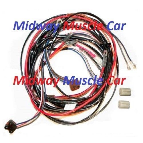 power window wiring harness 72 73 74 Chevy Corvette 350 454 ncrs
