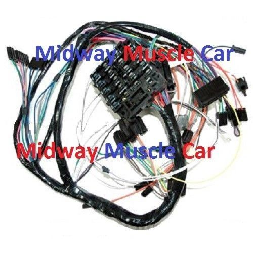 Dash Wiring harness 72 Oldsmobile Cutlass Hurst olds 4-4-2 f85