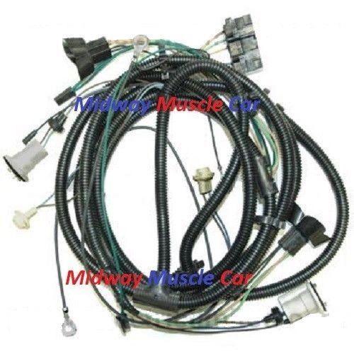 front end headlight wiring harness Chevy pickup truck blazer suburban 80 81 82