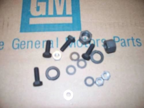 upper & lower rear shock mounting hardware kit 64-72 Chevy Chevelle 442 Skylark