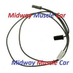 70 71 72 Chevy Chevelle SS Malibu dual horn wire wiring extension harness