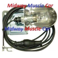 68 69 Chevy Chevelle SS Malibu Nova Camaro Impala underhood light lamp assembly