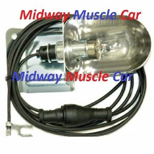 67 68 69 Chevy Chevelle SS Malibu Nova Impala underhood light lamp assembly