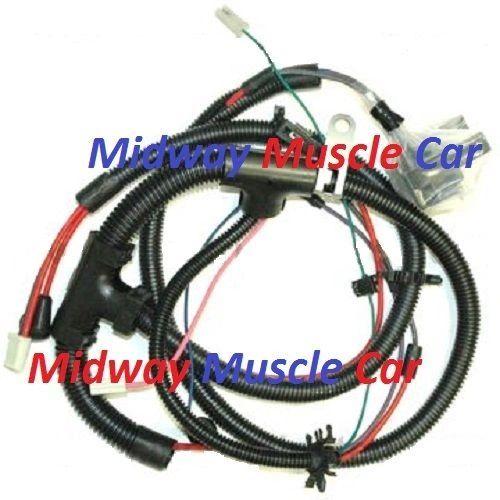 engine wiring harness 80 Chevy Camaro Pontiac Firebird Trans Am