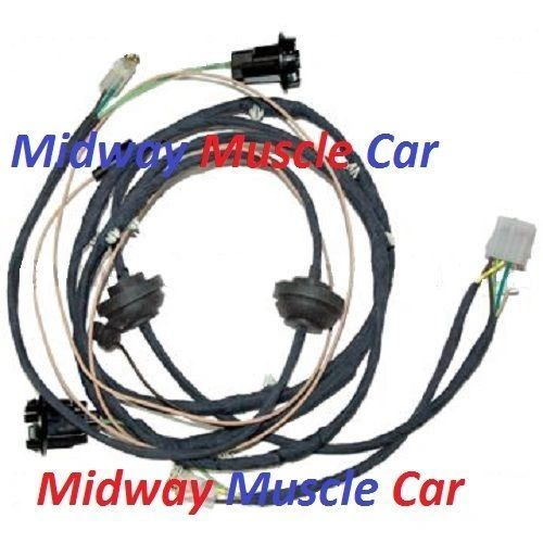 rear body panel tail light wiring harness 64 65 66 67 Chevy El Camino