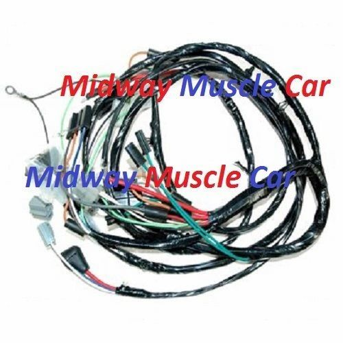 front end head light lamp wiring harness 64 65 66 67 Chevy Chevel | Midway  Muscle CarMidway Muscle Car