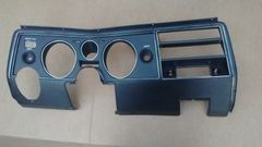 1969 69 Chevy Chevelle Dash instrument carrier panel bezel assembly with A/C