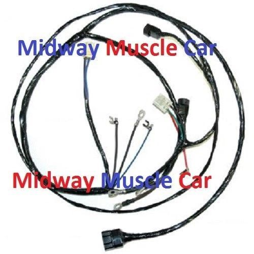 stock generator & front end headlight lamp wiring harness 57 Chevy 235 6 Cyl