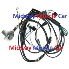 engine wiring harness V8 71 Pontiac GTO Lemans T-37 Judge