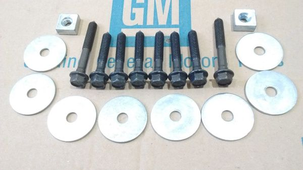 body mount bolt kit 64-72 Chevy Pontiac Buick Olds 442 GS cutlass GTO Chevelle