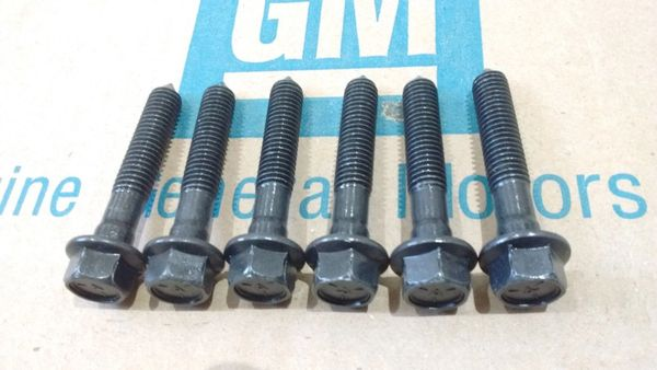 NOS body mount bolts 64-72 Chevy Pontiac Buick Olds 442 GS cutlass GTO Chevelle