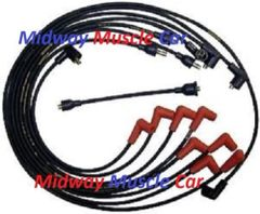 1-Q-67 date coded spark plug wires 67 MOPAR 440 Charger GTX coronet belvedere