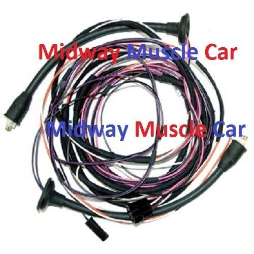 rear body taillight lamp wiring harness 57 Chevy 210 Bel Air 2dr sedan