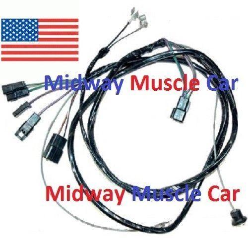 manual trans console wiring harness 64 65 Chevy Chevelle Malibu El Camino