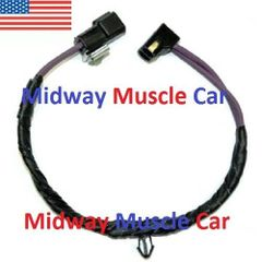 clutch neutral safety switch wiring harness 69-72 Chevy Chevelle El Camino